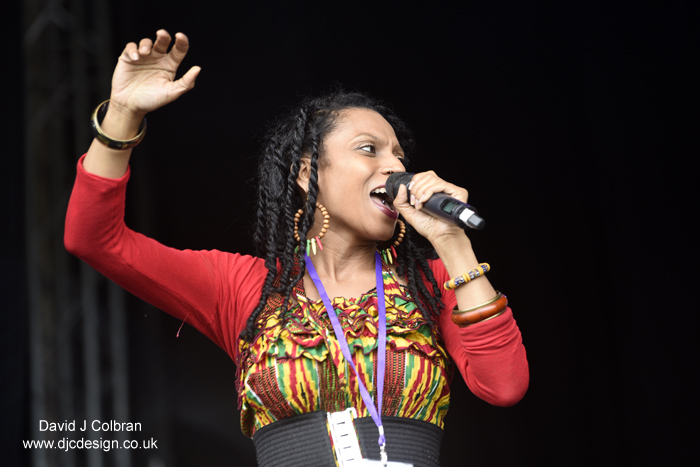 Sherrii at Africa Oye 2016