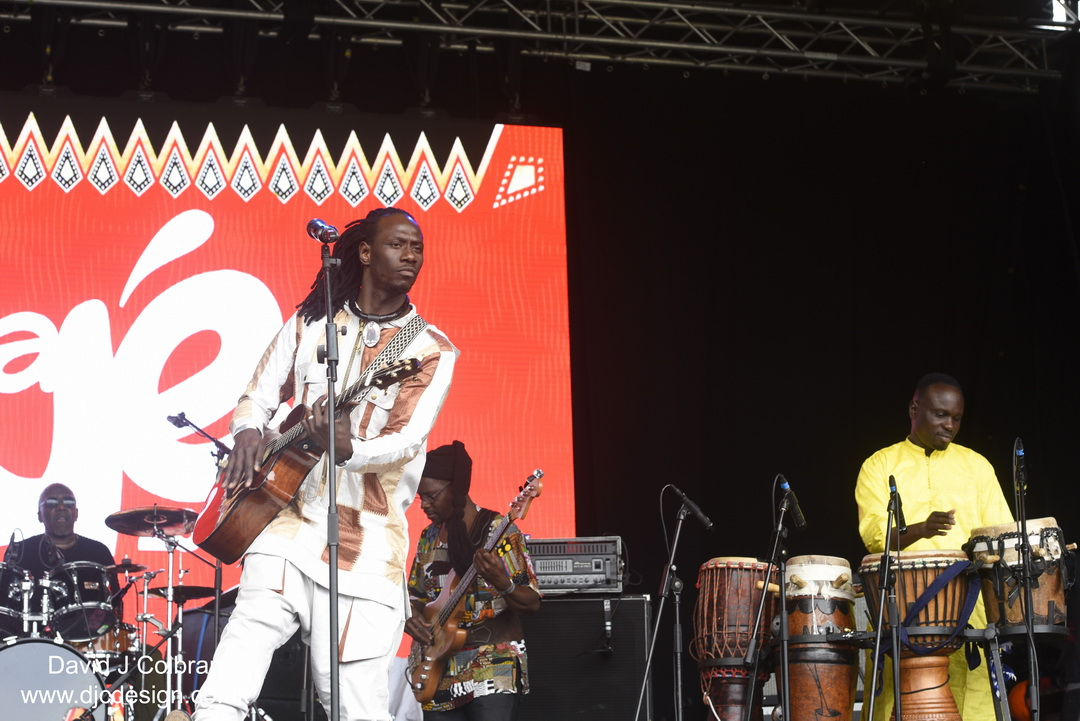 Carlou D at Africa Oye festival 2019 photo