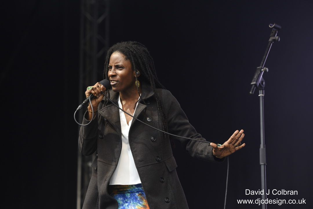 Jah 9 at Africa Oye festival 2019
