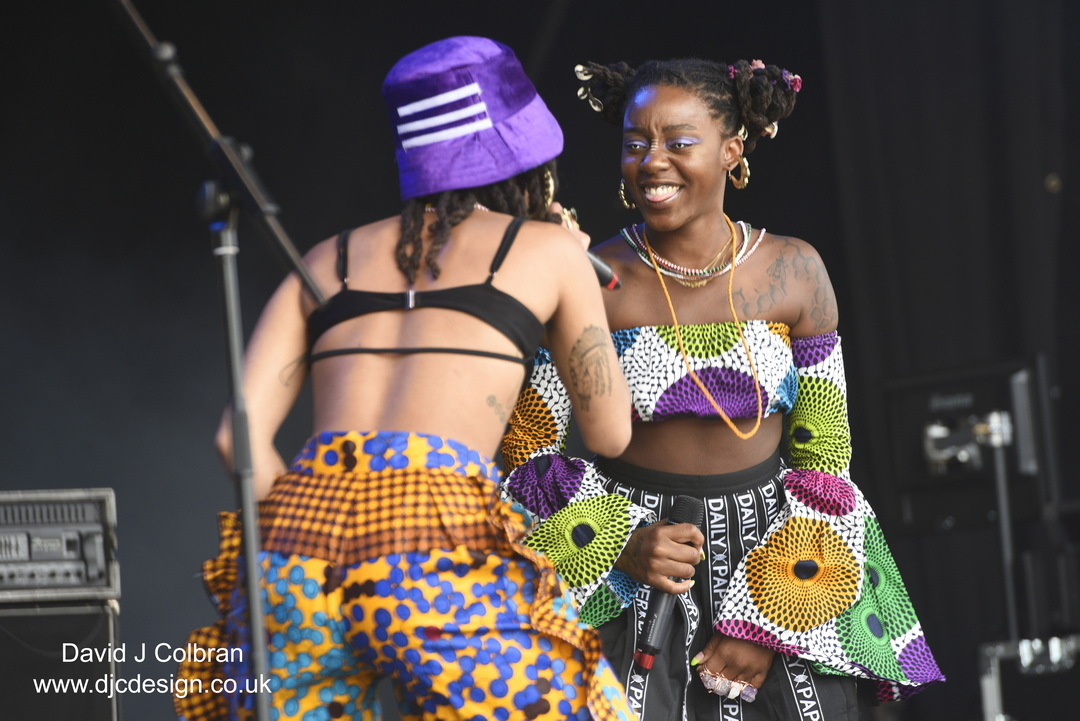 Oshun at Liverpool's Africa Oye festival in the UK