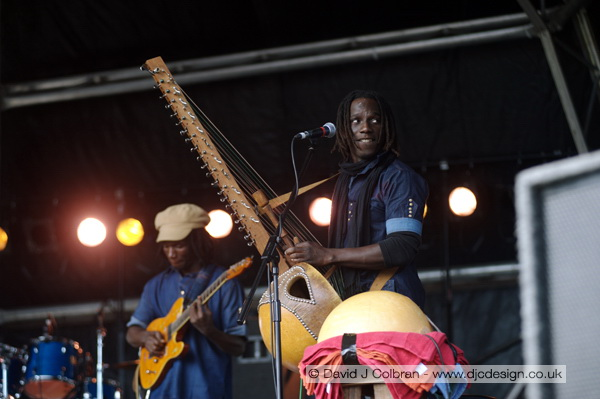Carlou D at Africa Oye 2010