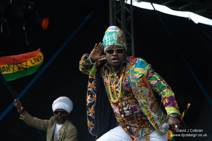 Black Prophet live at Africa Oye 2013