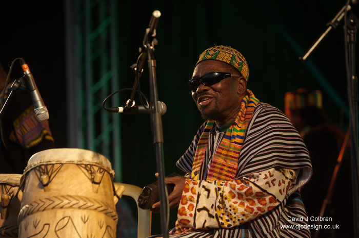 Osibisa from Ghana perform in Sefton Park