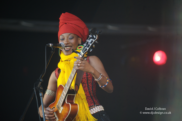 Fatoumata Diawara from Mali at Africa Oye