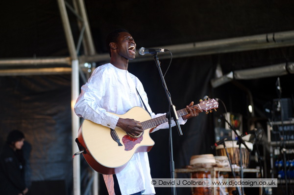 Modou Touré at Africa Oye 2010