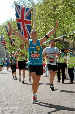 Event photography at London Marathon
