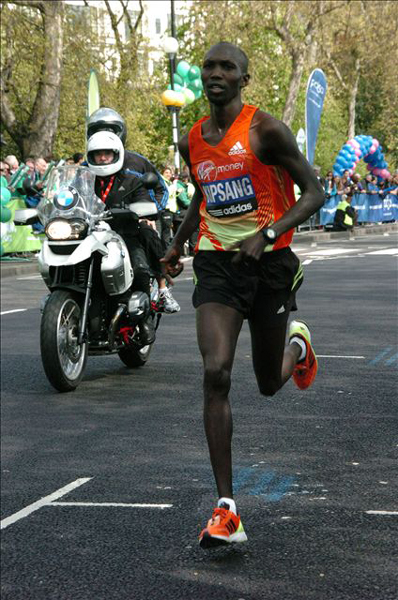 Wilson Kipsang London Marathon winner 2012