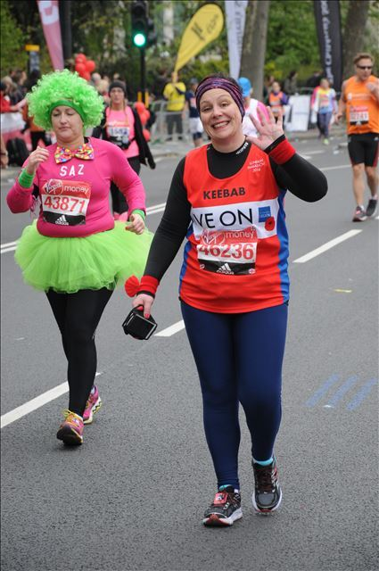 London Marathon photographer