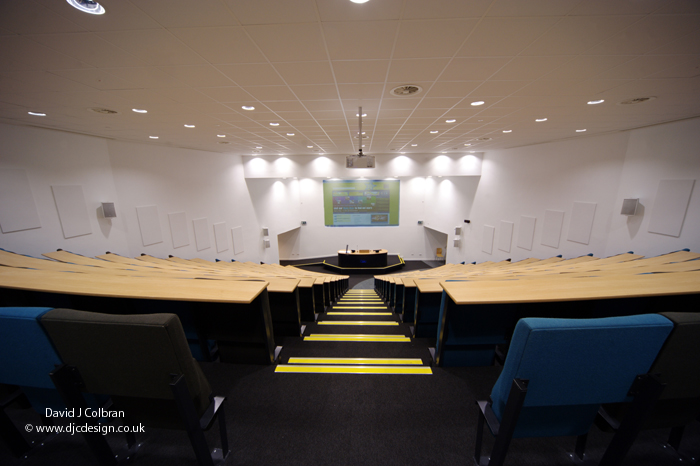 LJMU lecture facilities photography