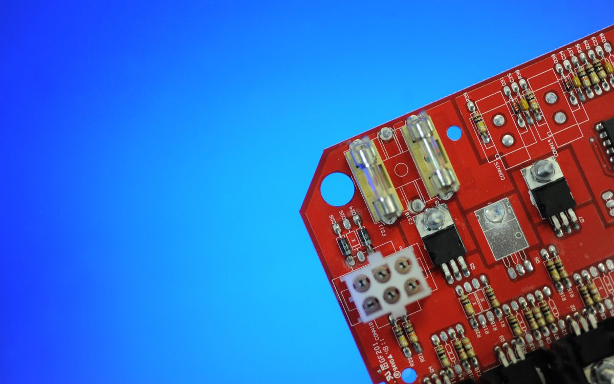 Product photographer for industry and business - macros of electronic circuit board
