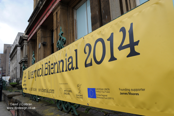 Liverpool Biennial 2014 entrance Old Blind School