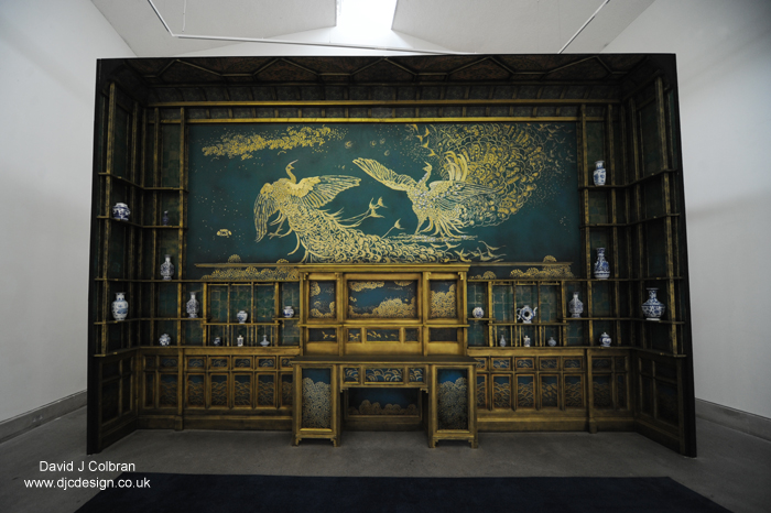 James McNeill Whistler at Bluecoat Art Centre. Harmony in Blue and Gold: The Peacock Room.