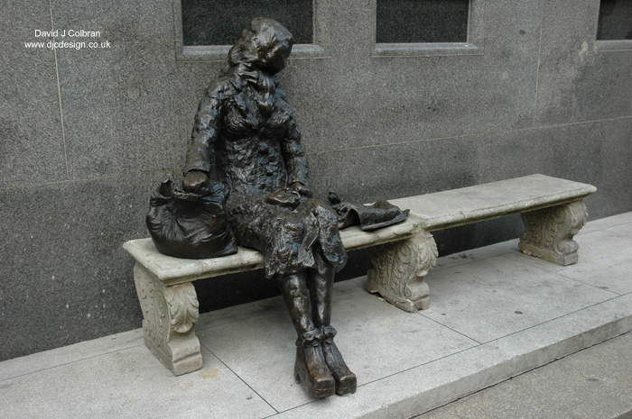 Eleanor Rigby statue image for sale