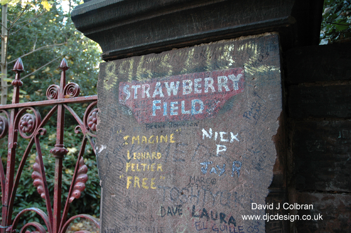 Strawberry Fields photograph Beatles Liverpool tour image