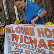 Micheal Shields home welcome images