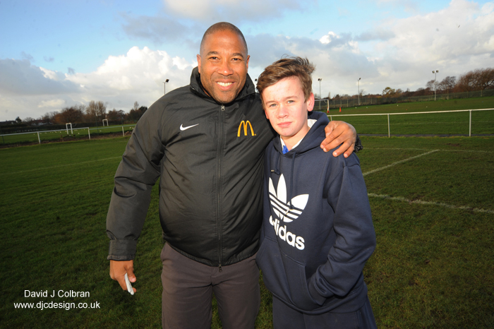 Press PR photographer - John Barnes for McDonalds