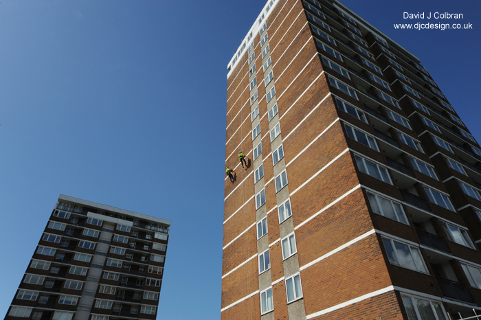 hi rise photography - residential tower blocks Liverpool