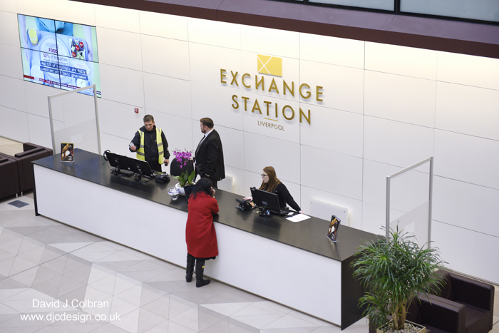 Business interior photography - Exchange Station
