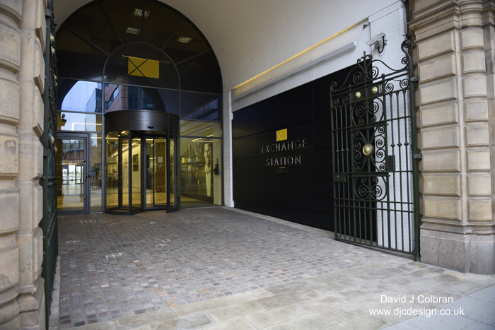 Entrance of Exchange Station - high end property photographer based in Liverpool
