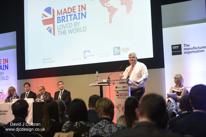 Liverpool based business photographer covers Made in Britain event