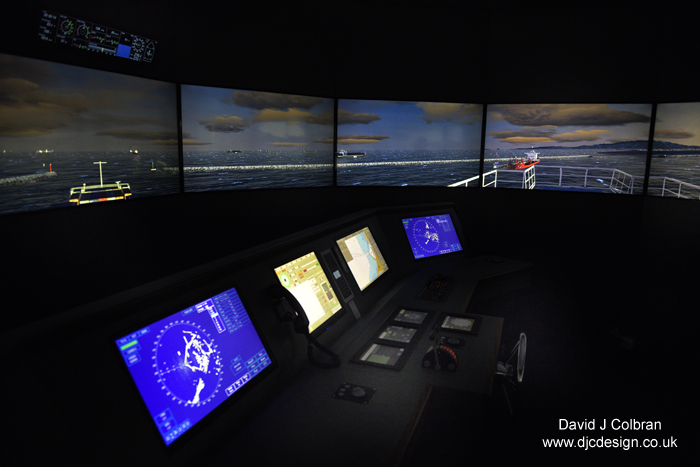 Liverpool maritime shipping simulator facility