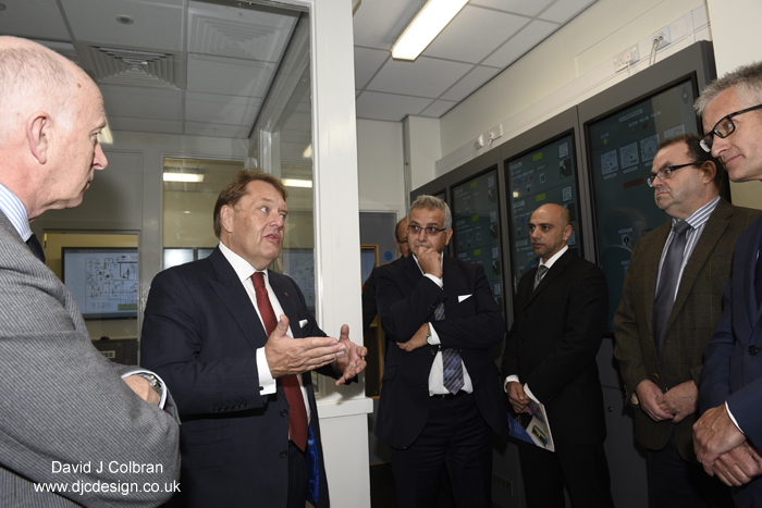 University event photographer - visit by shipping Minister