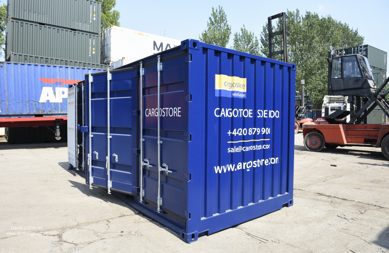 Bespoke Shipping container photography Merseyside