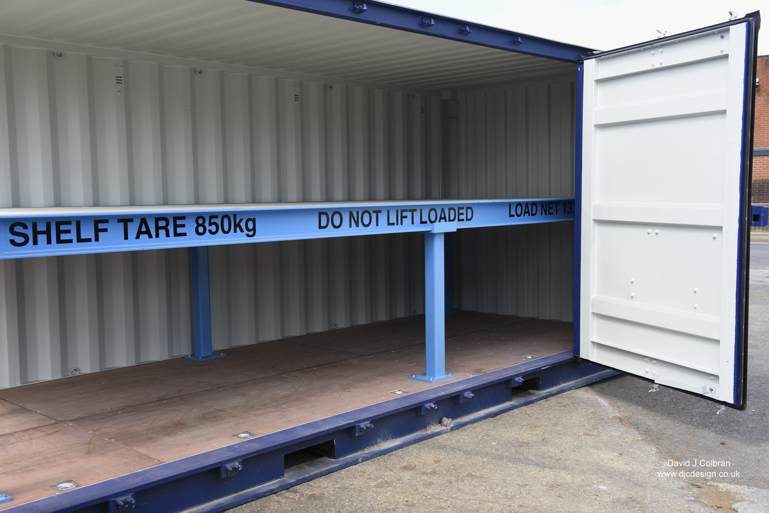 Shipping container photos UK
