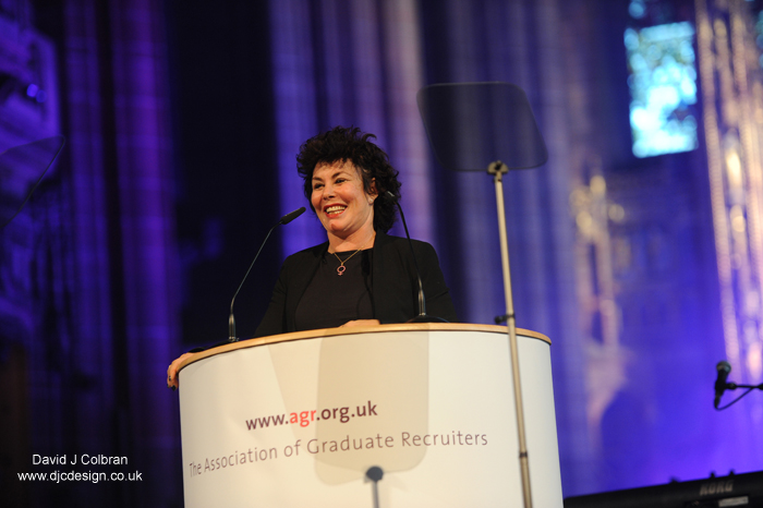 Celebrity photography at conferences - Ruby Wax