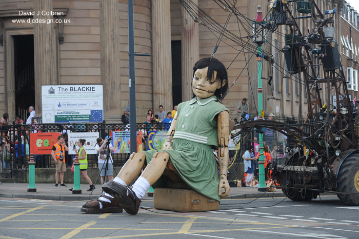 Giant Spectacular Liverpool Royal de Luxe