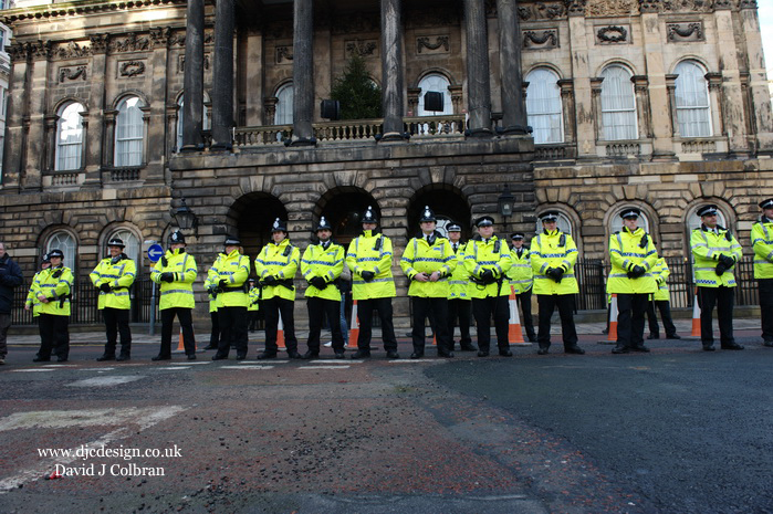 Police Liverpool Town Hall