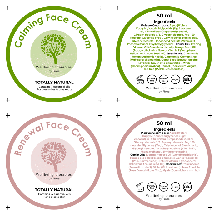 Product labels designed in Liverpool affordable solutions