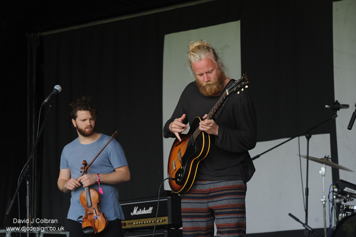 Hjaltalín band from Iceland perform in Liverpool LIMF 2014