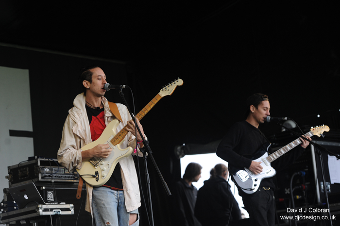 INC brothers, Andrew and Daniel Aged play at LIMF, Liverpool, UK