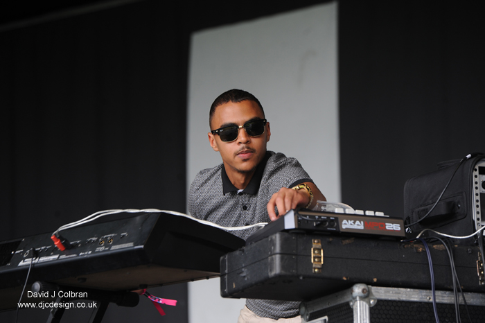Swindle, DJ at Liverpool International Music Festival 2014