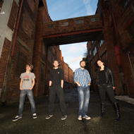 Promotional music photography Liverpool by Liveprool photographer. Band images on location in Merseyside a blog post