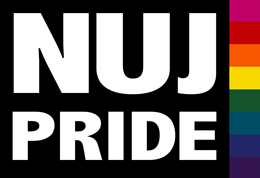 NUJ Pride badge