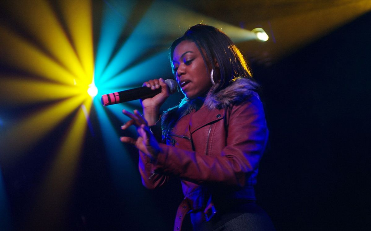 Live music photographer Lady Leshurr