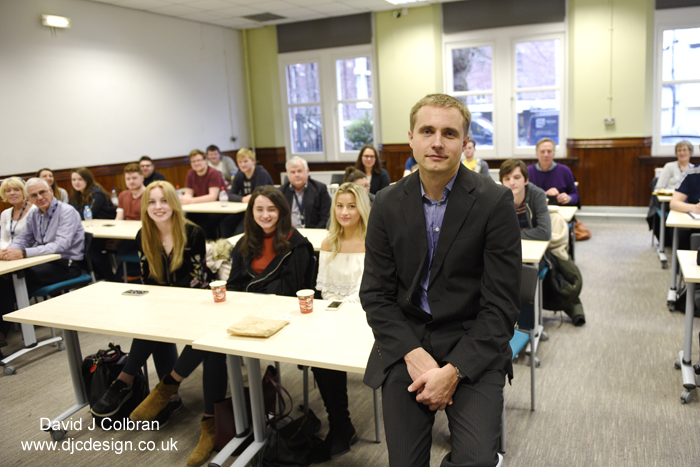 Vasily Petrenko visits LJMU - a pr photo opportunity