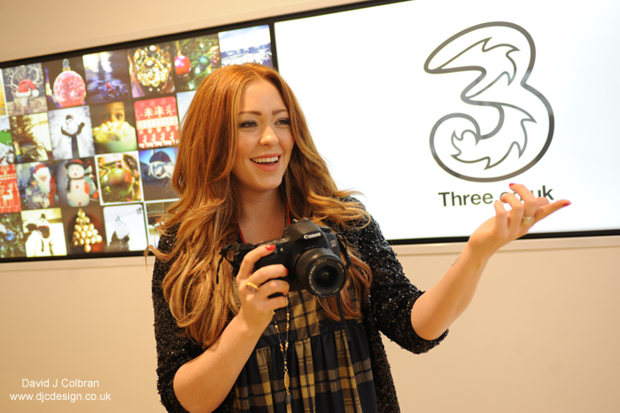 Merseyside public relations photographer works with celebrities
