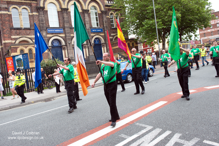Liverpool James Larkin march