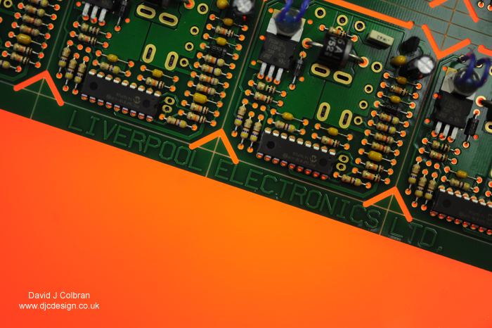 Printed circuit board photography