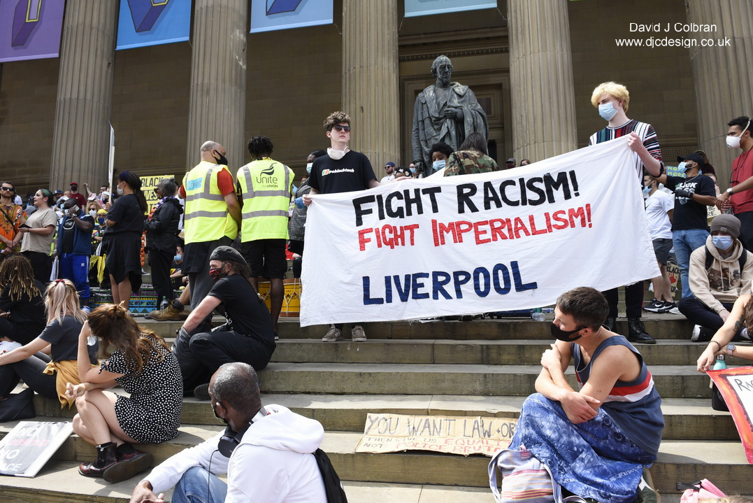 Black Lives Matter Liverpool photos to licence