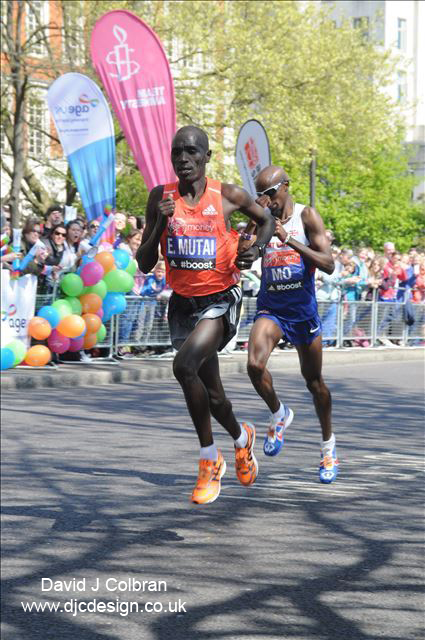 Mo Farah London Marathon image