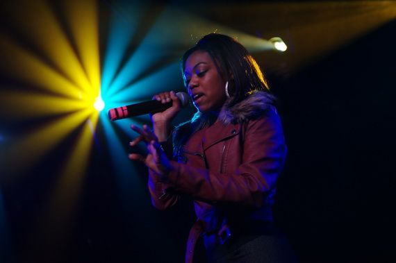Music PR photographer - Lady Leshurr on tour image