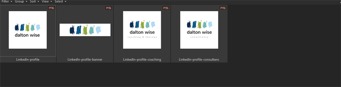 LinkedIn branding - images for social media