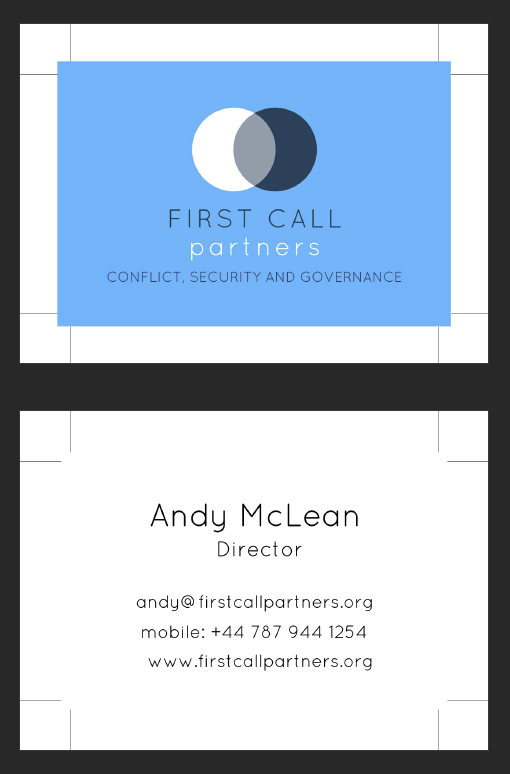 Business card design in Liverpool - affordable solutions