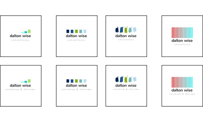Logo design concepts for a Liverpool business