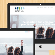 Liverpool web design David J Colbran builds a new Wordpress responsive web site for business start up Dalton Wise - read the case study