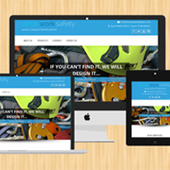 A responsive web site using Wordpress by Liverpool designer for a new start up business in Scotland